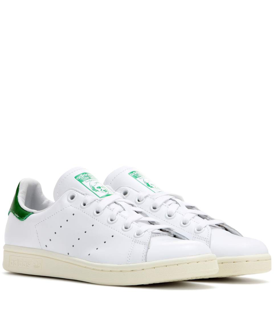 Stan-Smith-leather-sneakers