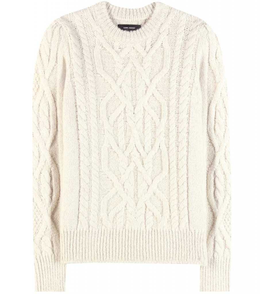 ISABEL MARANT Pullover Gayle in alpaca e lana