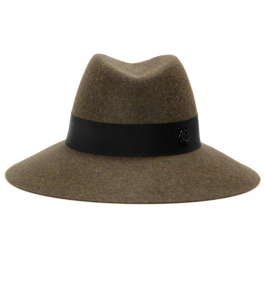 MAISON MICHEL Cappello Fedora Kate in feltro