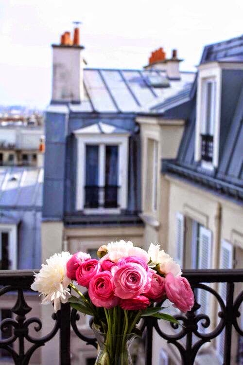 peonies in paris