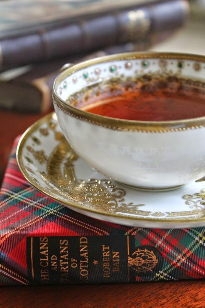 tartan and tea