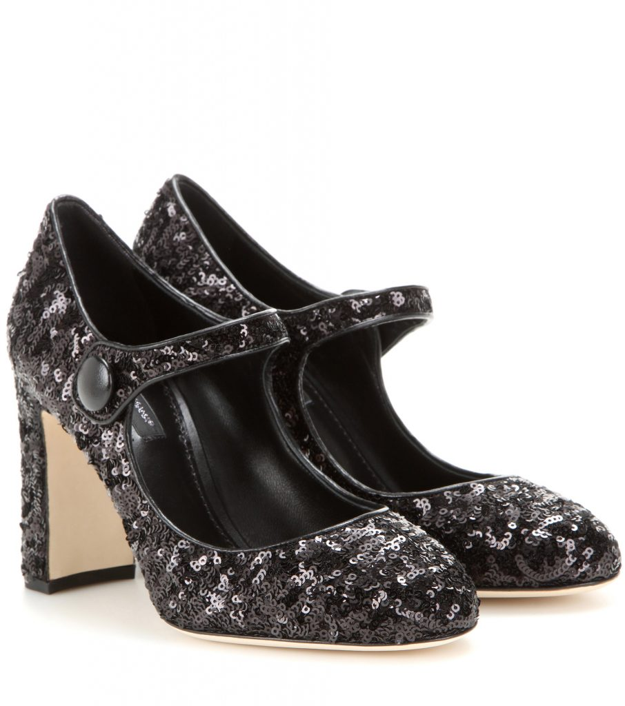 DOLCE & GABBANA Mary Jane con paillettes
