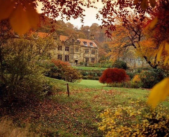 Mount Grace Priory Manor House, Saddle Bridge, North Yorkshire, England More