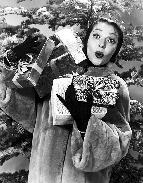 Loretta Young Vintage Hollywood Christmas