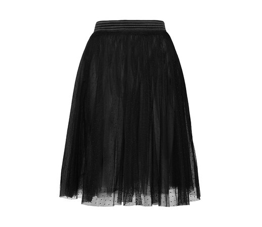 Gonna in tulle nero Yamamay