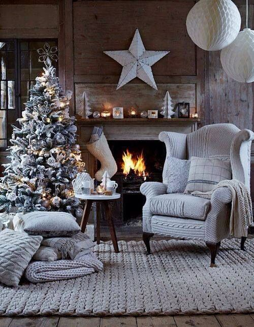 natale in grigio home decor