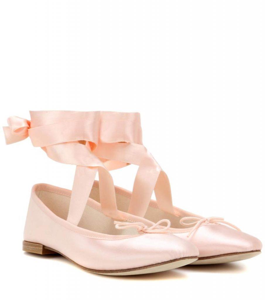 REPETTO Ballerine Anna in satin