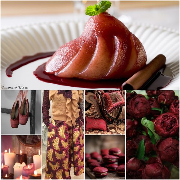 burgundy ricette fashion