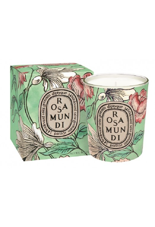 Limited Edition Rosa Mundi 190g candle diptyque