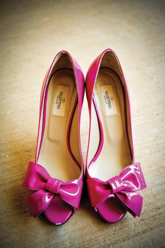 pink yarrow shoes