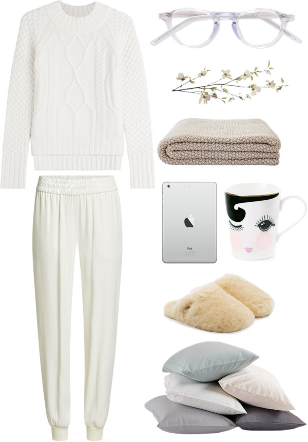 Bianco comfy lazy day outfit