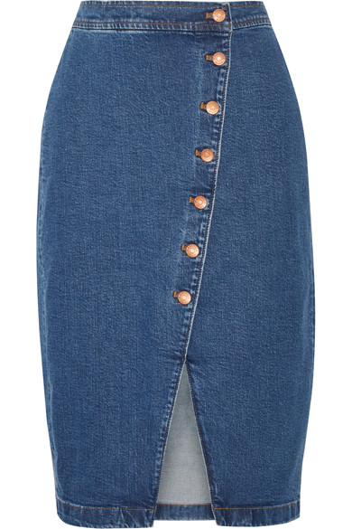 Madewell Gonna in denim stretch