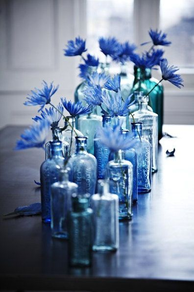 idee decor blue