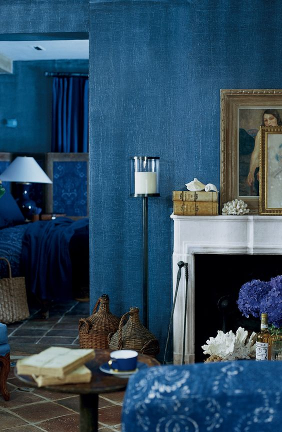 interior decor blu