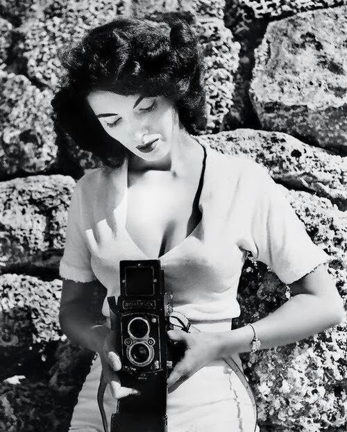 Photographer Bunny Yeager