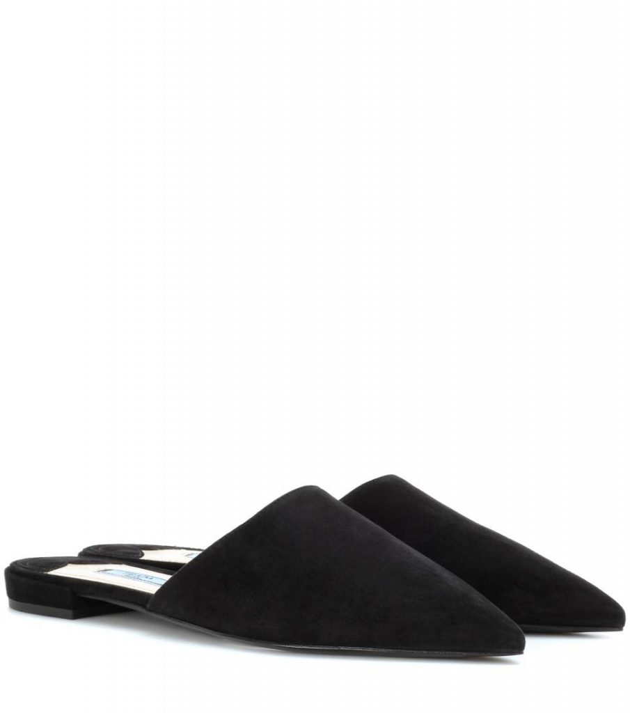 PRADA Slippers in suede