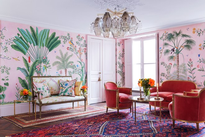 Aquazzura per de Gournay Wallpaper 6