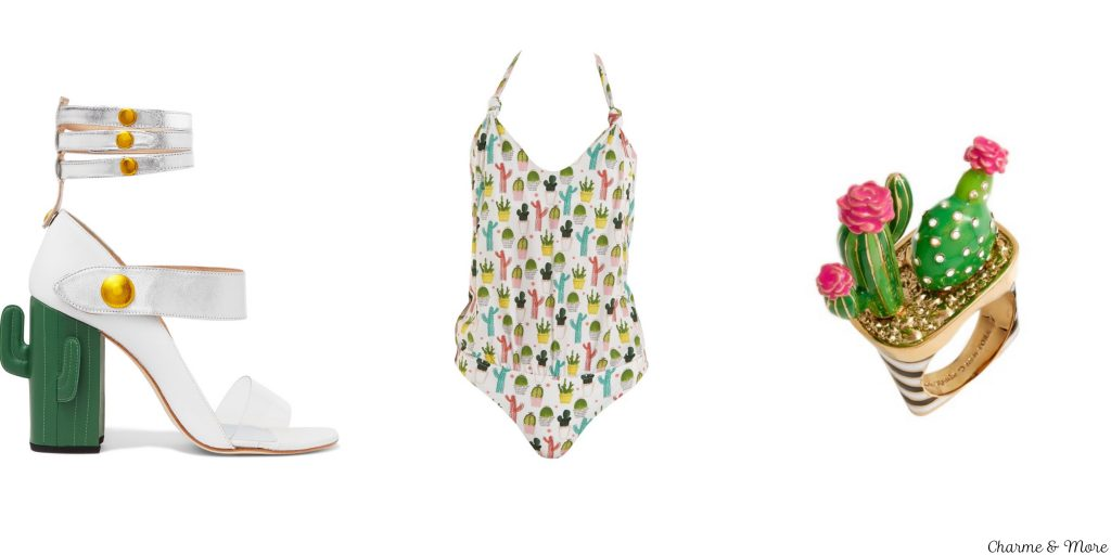 Sandali di Mr by Man Repeller Costume intero Los Trapitos Al Sol by Carolina Sanchez, Sweet Etnic Cactus Collection Anello Kate Spade