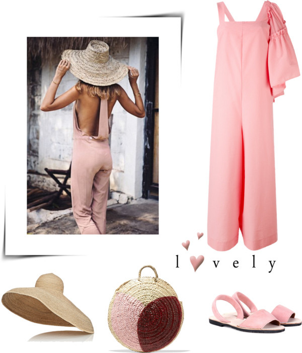 Sunday pink outfit