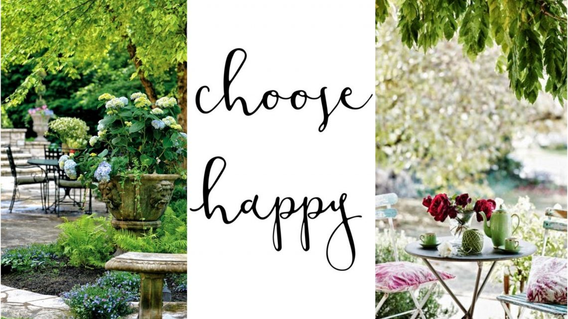 Choose happy domenica