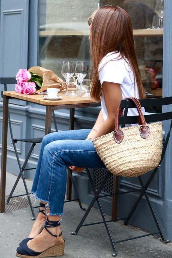 Sunday Straw Bags Relax