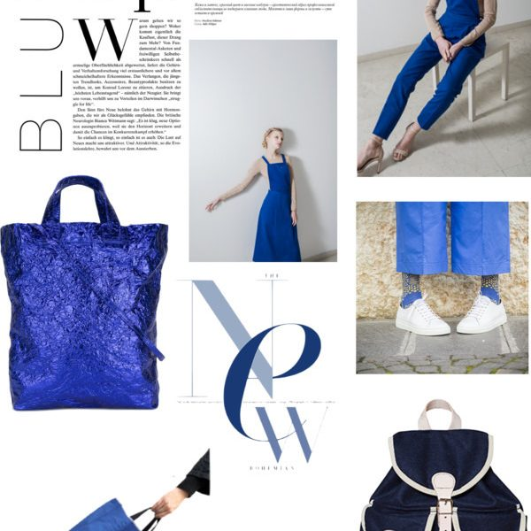 The chic list blue