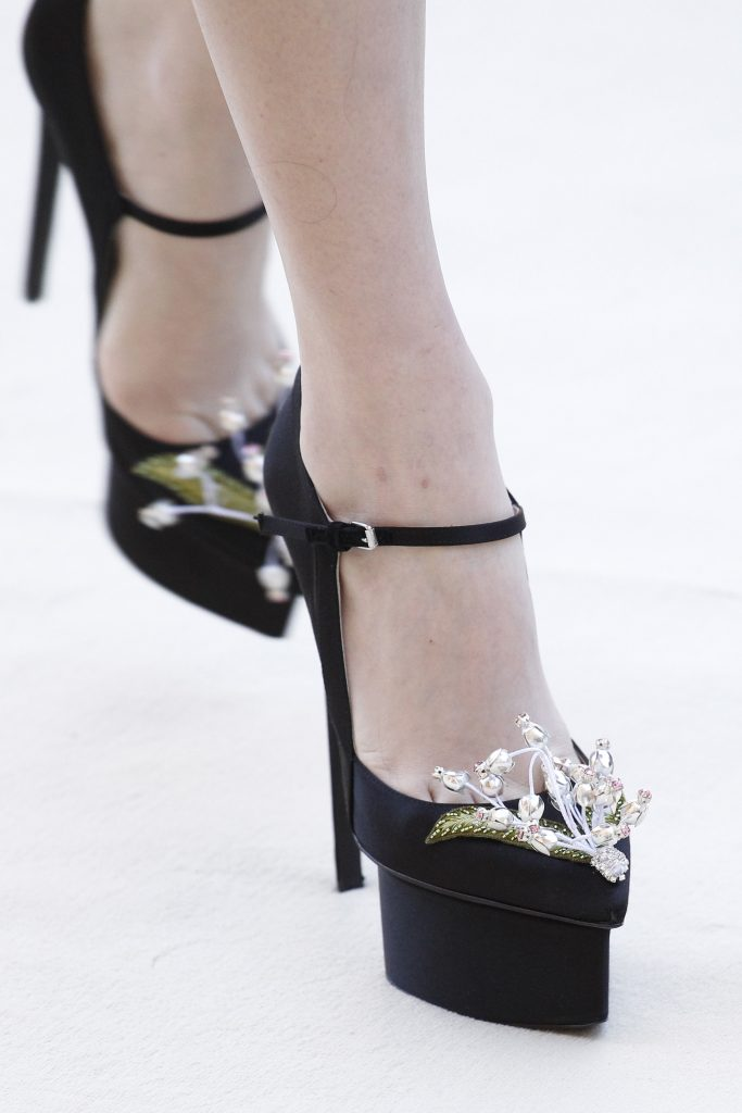 Giambattista Valli Fall 2017 Couture collection SHOES