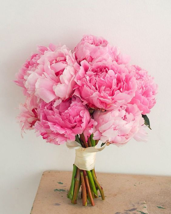 Weekend peonies