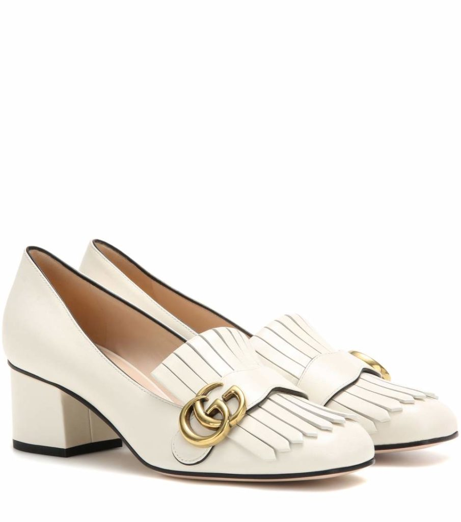 Pumps mocassino Gucci