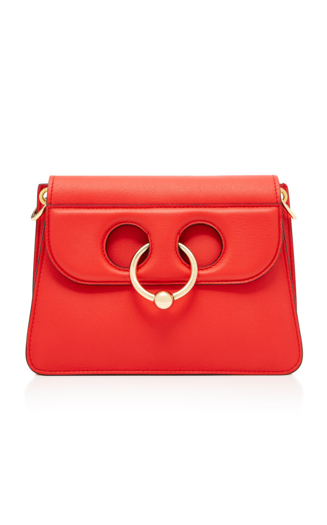 JW ANDERSON Borsa a tracolla Pierce Mini in pelle