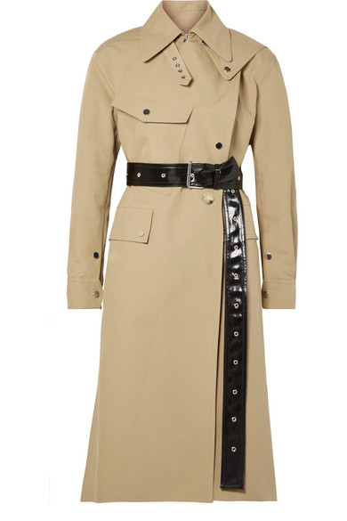 HELMUT LANG Trench Utility Mackintosh in cotone