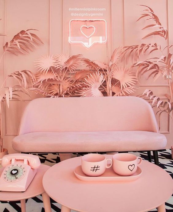 @superstudiogroup Milllen Pink Room a project of designbygemini