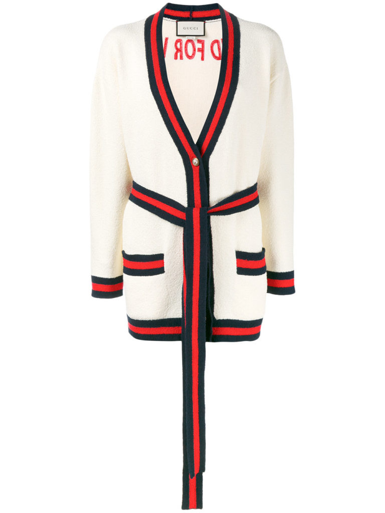 Blind For Love Cardigan Gucci