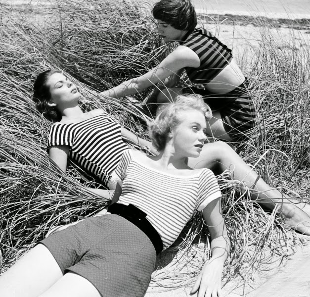 At The Beach Photo Nina Leen