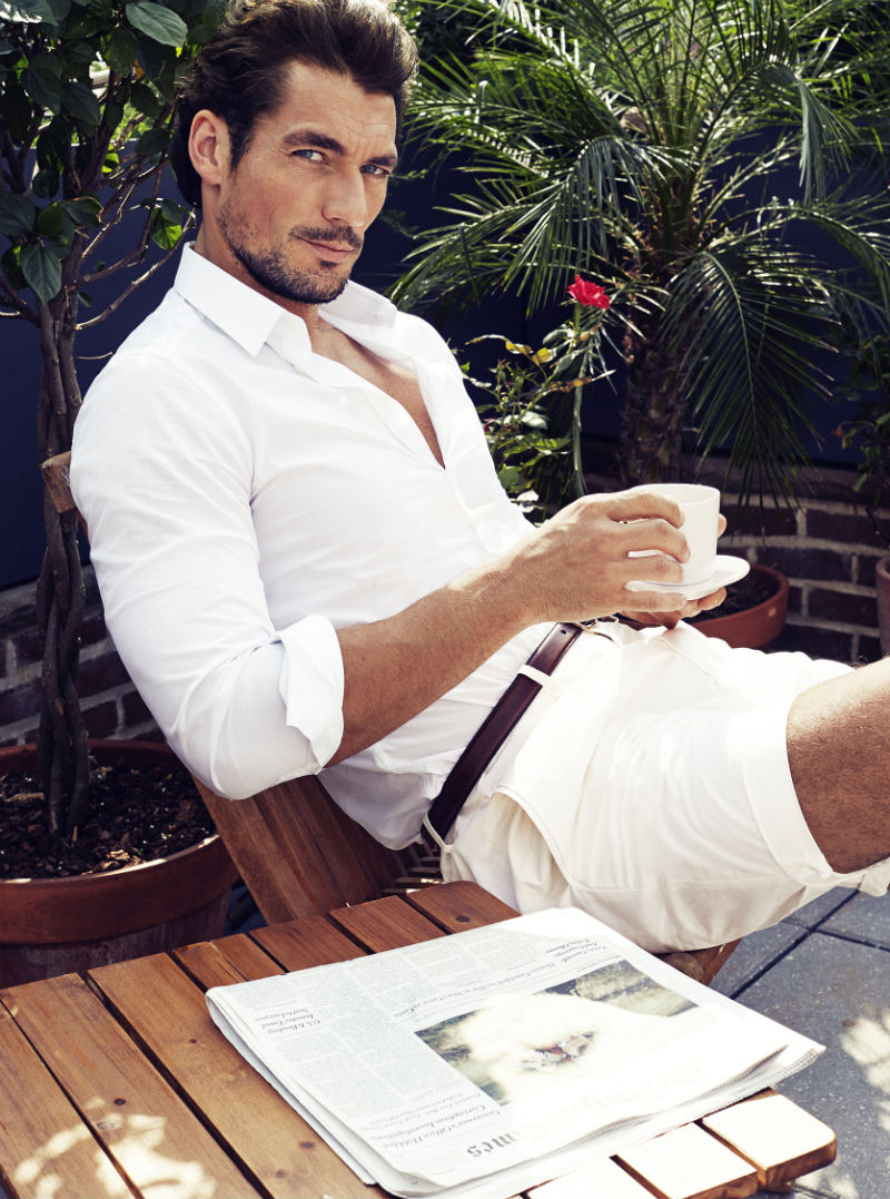 David Gandy  Photo: Victor Demarchelier