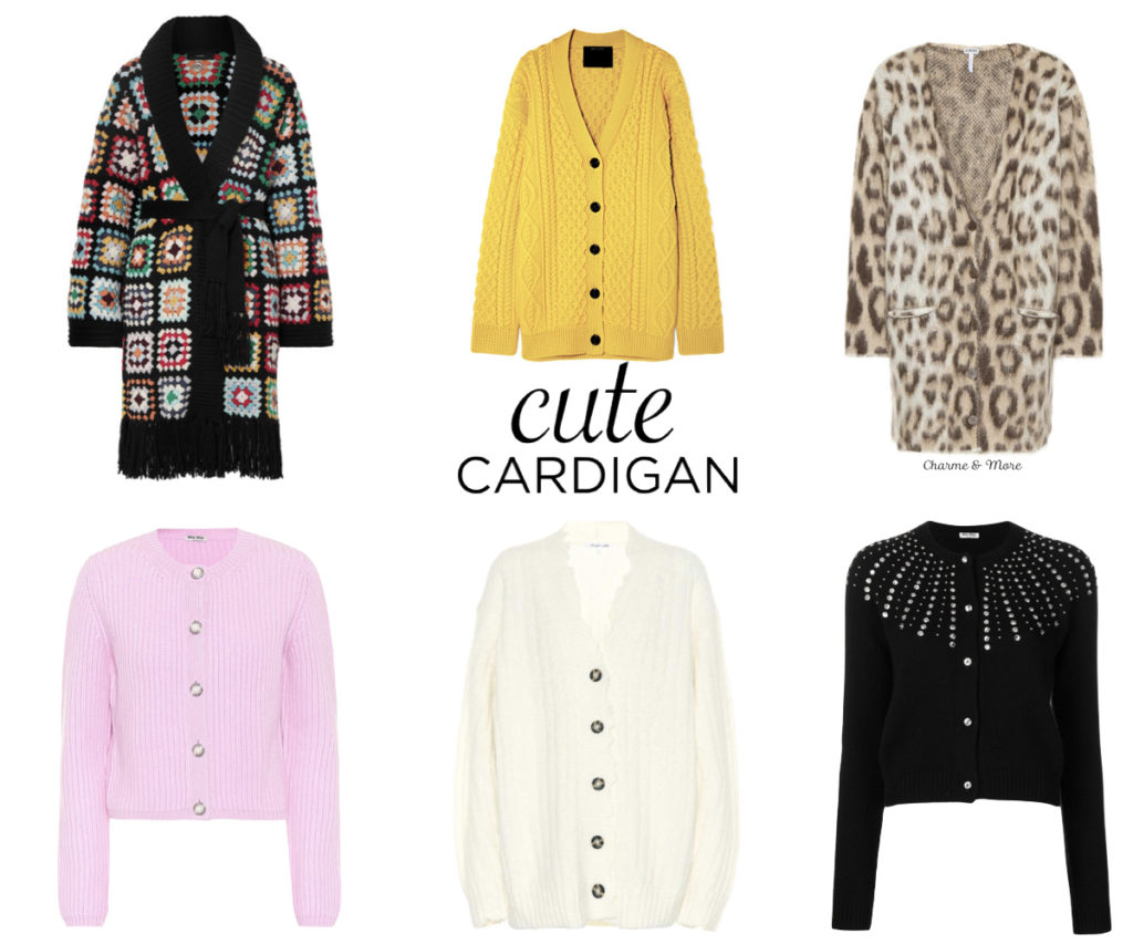 The Chic List: cardigan must-have |06.09.2018