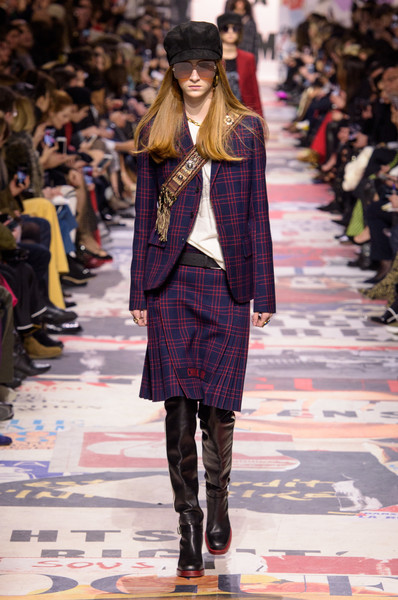 Christian Dior at Paris Fashion Week Fall 2018 Ph via