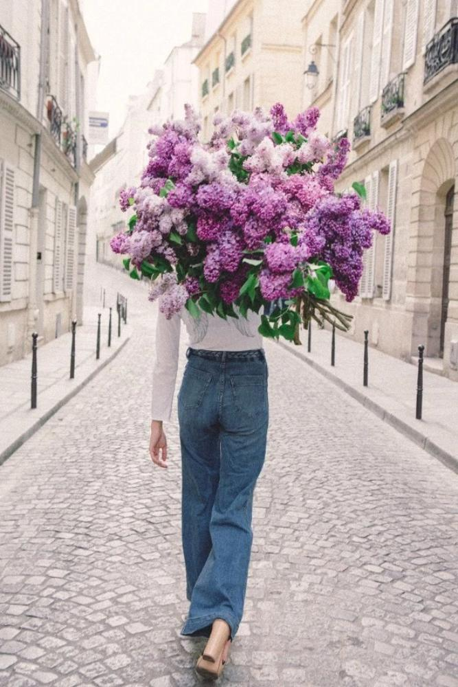 On My Way - Lilac Lust in the 6th Ph via via @carlalovesphotography (Shop here) Carla Coulson Limited Edition Fine Art Prints